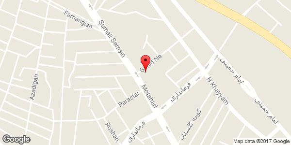 موقعیت چلو کبابی جوادی روی نقشه