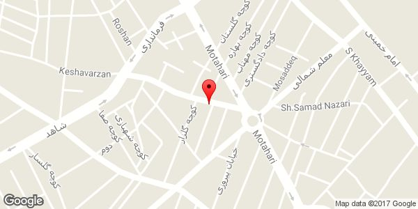 موقعیت مرکز پخش لوازم التحریر تندیس روی نقشه