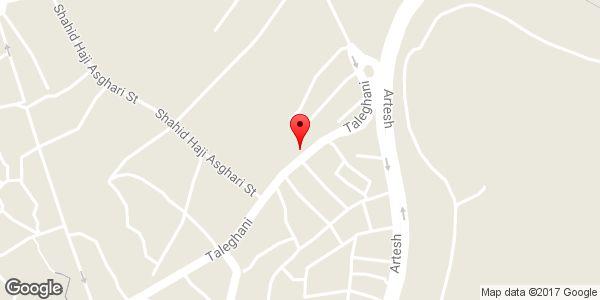 موقعیت داروخانه دامپزشکی فارابی روی نقشه