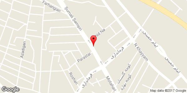 موقعیت بیمه پاسارگاد نمایندگی محمدی روی نقشه