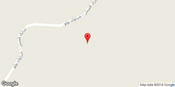 موقعیت مسجد امام حسین روی نقشه