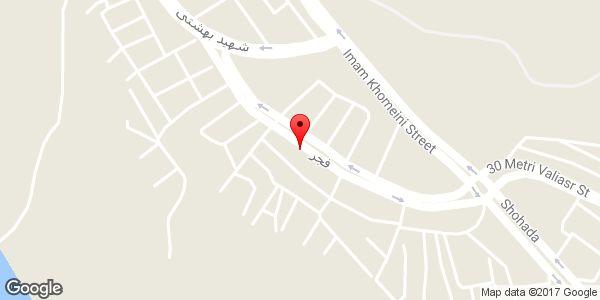 موقعیت ایزوگام کار بلدان حسینپور روی نقشه