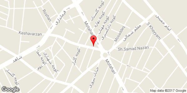 موقعیت پلاستیک شاه محمدی روی نقشه