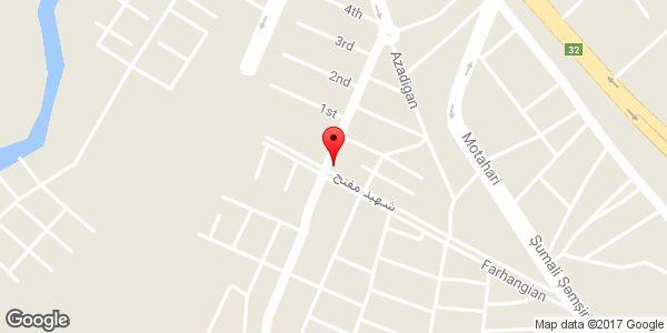 موقعیت فروشگاه لباس پاستیل روی نقشه
