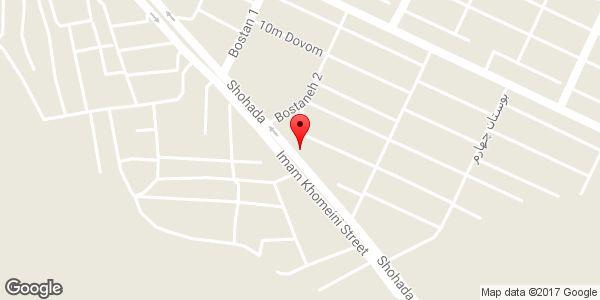 موقعیت سوپر مارکت حاج رحیم روی نقشه