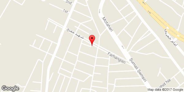 موقعیت فروشگاه برادران رحیمی روی نقشه
