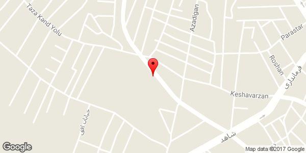 موقعیت لوله کشی و فروش لوله و اتصالات برادران رحیمی روی نقشه