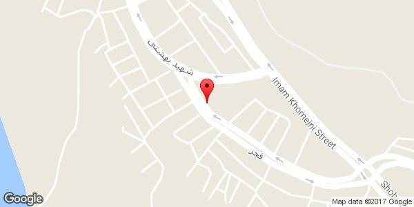 موقعیت اتو گالری سمند روی نقشه