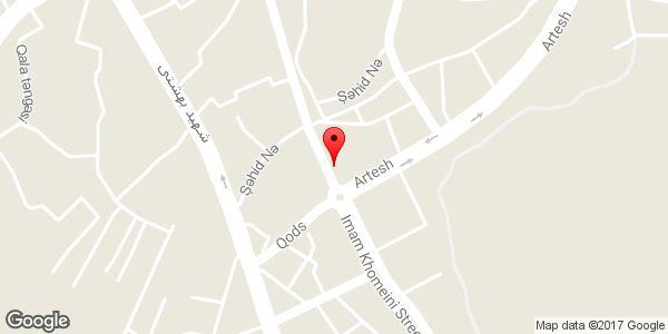 موقعیت باطری سازی و فروشی اکبری روی نقشه