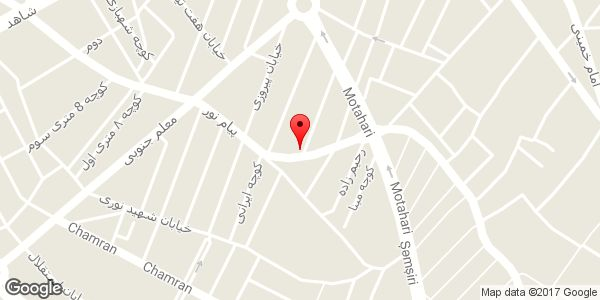 موقعیت تاکسی سرویس ارم روی نقشه