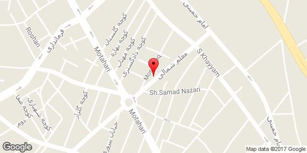 موقعیت لوازم آرایشی و بهداشتی آرایشیک روی نقشه