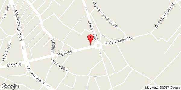 موقعیت موسسه اعتباری ثامن (شعبه میدان آزادی) روی نقشه