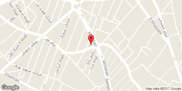 موقعیت املاک شیخی روی نقشه