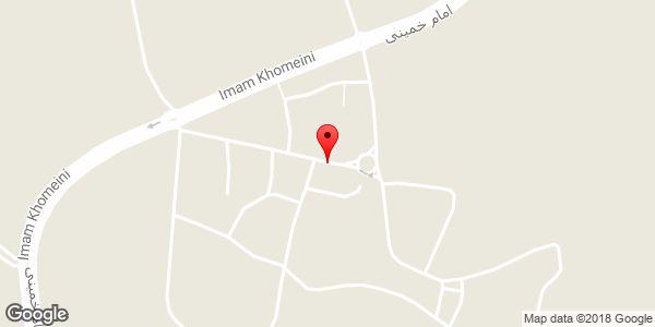 موقعیت مسجد سعیدیه روی نقشه