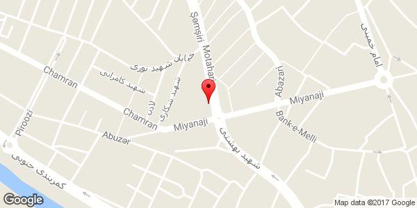 موقعیت چلوکبابی فراز روی نقشه