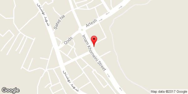 موقعیت نمایشگاه اتومبیل ایران بنز (جبارزاده) روی نقشه