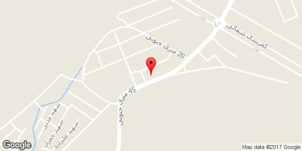 موقعیت نمایشگاه اتومبیل ایران خودرو روی نقشه