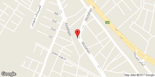 موقعیت شرکت حفاری چشمه آبی روی نقشه