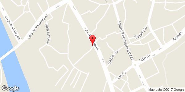 موقعیت سوپر مارکت سید یعقوب روی نقشه