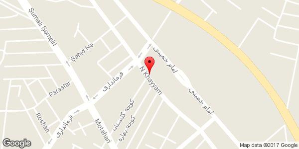 موقعیت لوازم خانگی انصاری روی نقشه