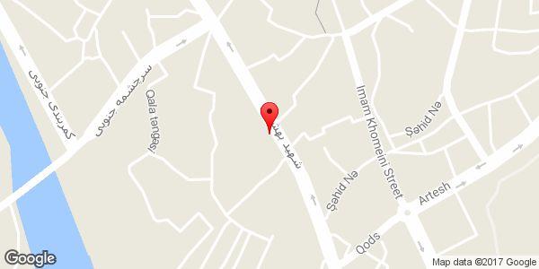 موقعیت دفتر نشریه ملت و امت روی نقشه