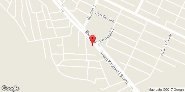 موقعیت خدمات جوشکاری و تراشکاری صنعت روز رضا روی نقشه