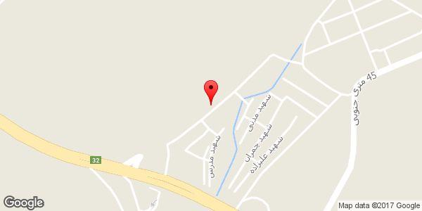 موقعیت مسجد امام جعفر صادق (ع) روی نقشه