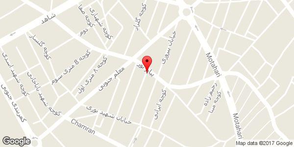 موقعیت فروشگاه رویانا گستر روی نقشه