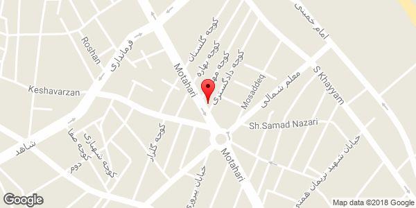 موقعیت مجتمع شوراهای حل اختلاف شهرستان میانه روی نقشه