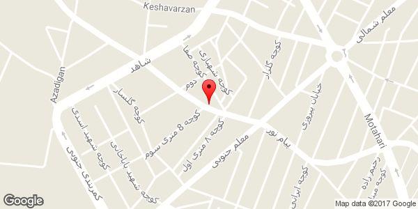 موقعیت تاکسی سرویس فرهنگ روی نقشه