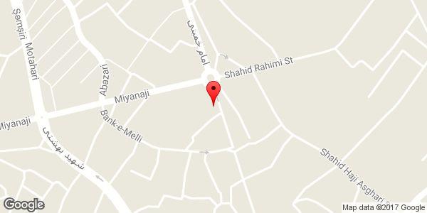موقعیت دستگاه خودپرداز بانک ایران زمین روی نقشه