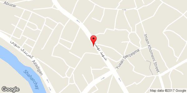 موقعیت کباب سنتی سعید روی نقشه
