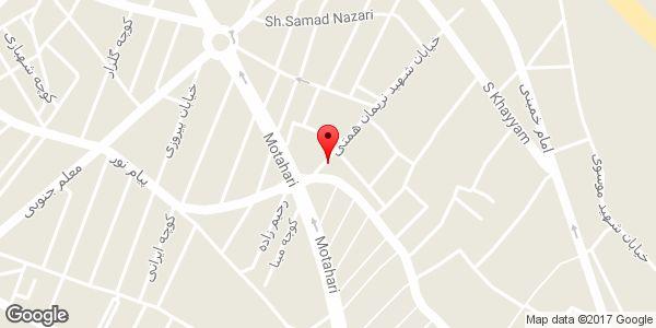 موقعیت کارگاه کانال سازی سرد و گرم مصطفی شاهمحمدی روی نقشه