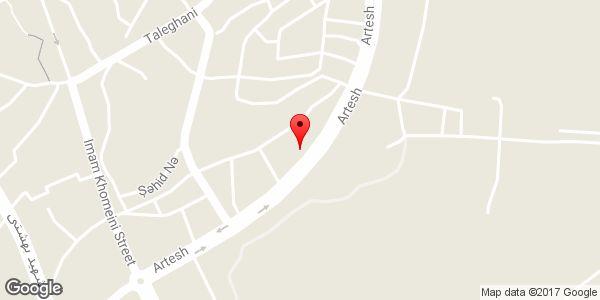 موقعیت تعمیرگاه مکانیکی حسین بهار روی نقشه