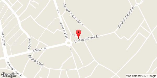 موقعیت فروش و خدمات پس از فروش رادیاتور احمدپور روی نقشه