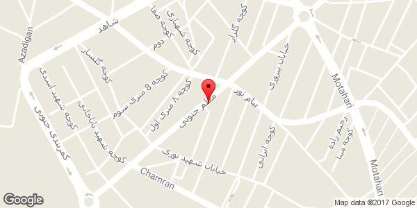 موقعیت بیمه ایران نمایندگی سپهرفر روی نقشه