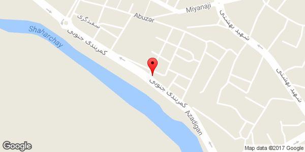 موقعیت اتو سرویس طهران نو روی نقشه