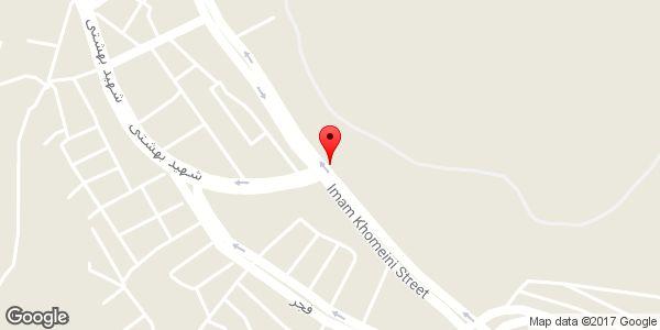 موقعیت فروشگاه کاشی و سرامیک برلیان (جباری) روی نقشه
