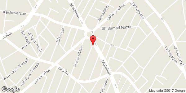 موقعیت آرایشی بهداشتی لرد روی نقشه