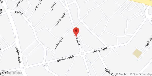 موقعیت دفتر مشاوره احسان حجتی روی نقشه