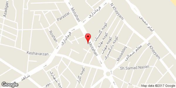 موقعیت فروشگاه لباس زنانه GIYIM (شعبه 2) روی نقشه