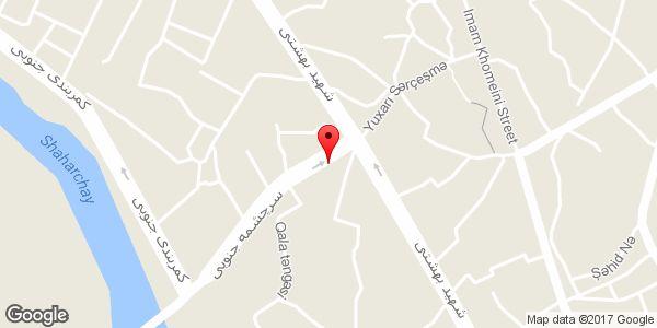 موقعیت لاستیک فروشی جعفری روی نقشه