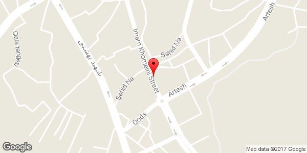 موقعیت مرکز تحریر گرمرودی روی نقشه