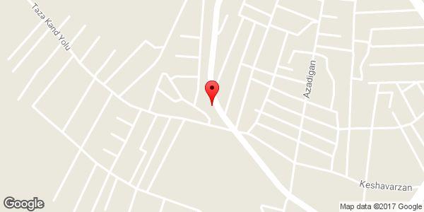 موقعیت خدمات لوله کشی یوسفی روی نقشه