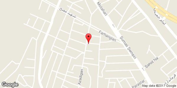 موقعیت اتو گالری آلتین روی نقشه