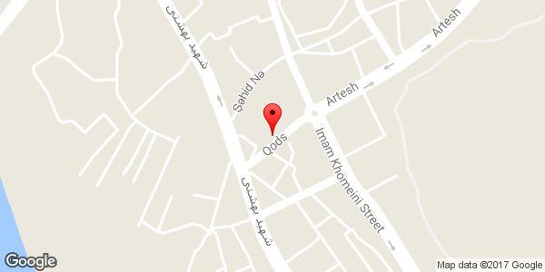 موقعیت لوازم یدکی شیرازی روی نقشه