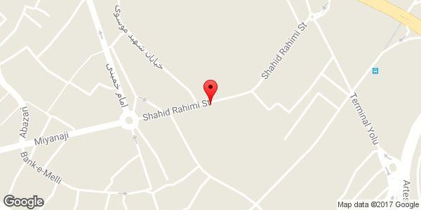 موقعیت بانک انصار شعبه شهدای زینبیه روی نقشه