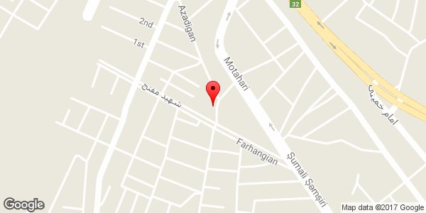 موقعیت خدمات لوله کشی شریفی روی نقشه