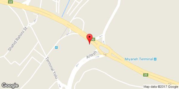 موقعیت چلوکباب آزادی روی نقشه