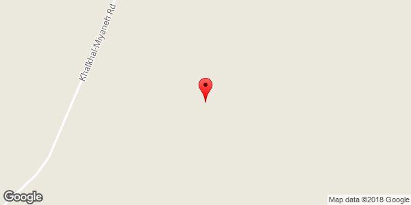 موقعیت کوه آجی داغ روی نقشه